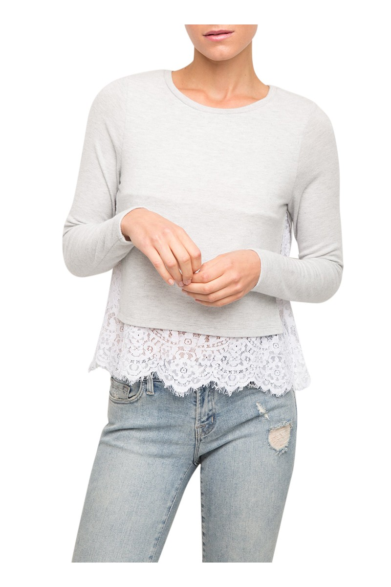 Generation Love - Women's Esther Lace - Grey