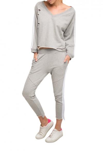 Generation Love - Women's Saskia Stripe - Grey