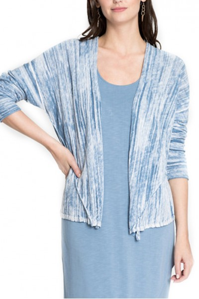 Nic+Zoe - Women's Open Breeze Cardy - Blue Haze