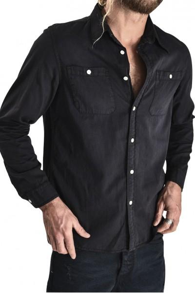 One Teaspoon - Men's Liberty Shirt - Fox Black