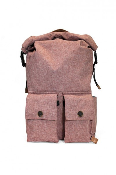 PKG - Rolltop Backpack - Red Ochre