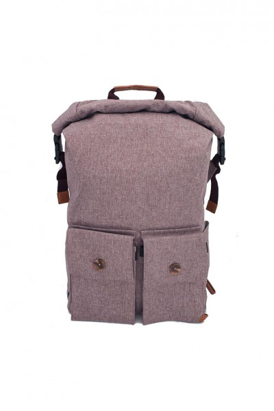 PKG - Rolltop Backpack - Maroon