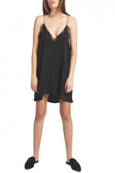 One Teaspoon - Women's Delirious Slip Dress - Black