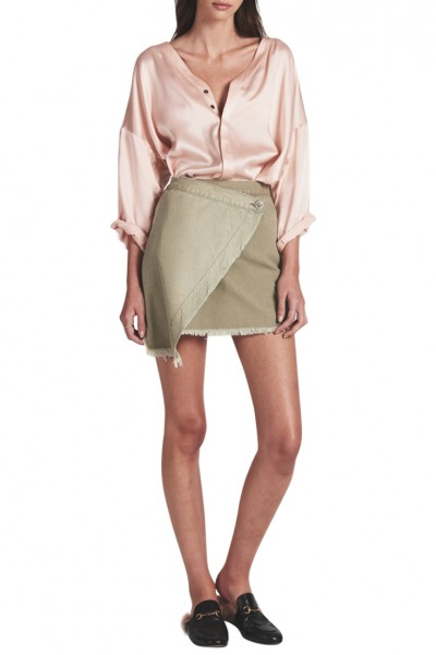 One Teaspoon - Women's Wild Thing Skirt - Militaire