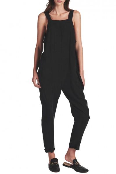 One Teaspoon - Women's Street Walker Jumpsuit - Matte Black
