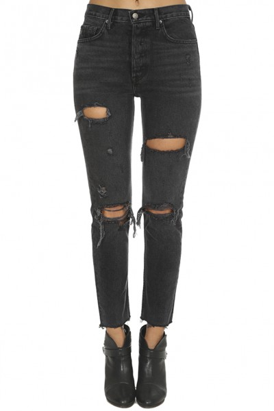 GRLFRND - Women's Karolina High Rise Skinny Jean - Traveling Band
