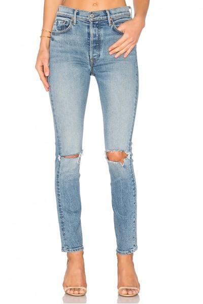 GRLFRND - Women's Karolina High-Rise Skinny Jean - What Is Life