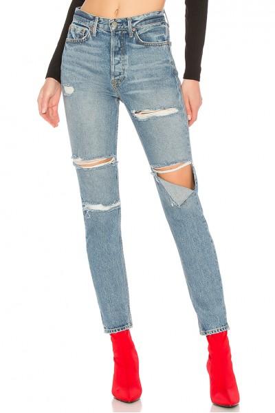 GRLFRND - Women's Karolina High-Rise Skinny Jean - Gold Digger