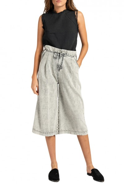 One Teaspoon - Women's Menzy Trousers - Grey Spirit