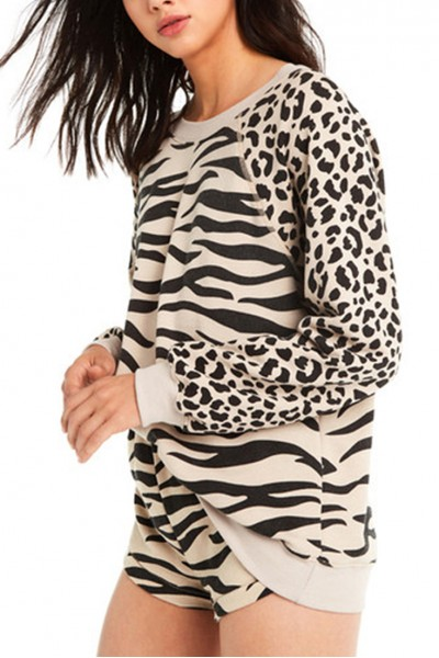 Wildfox - Women's Easy Tiger Sommers Sweater - Maderas Tan