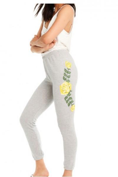 Wildfox - Women's Friendship Roses Bottoms Knox Pants - Heather