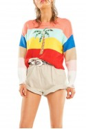 Wildfox - Women's Iris Sweater - Multi Coloured