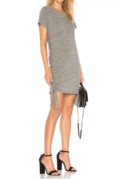 LNA - Women's Josie Dress - Heather Grey