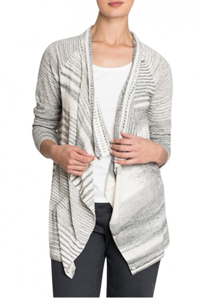 Nic+Zoe - Women's Time Change Cardy - Zinc Mix