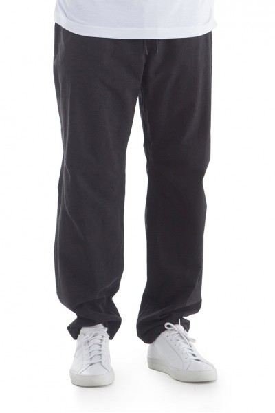 Publish Brand - Men's Blaze Cotton Twill Relaxed Fit Pant - Black