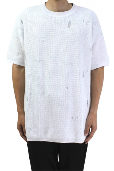 Kollar - Men's Oversized Tee - White