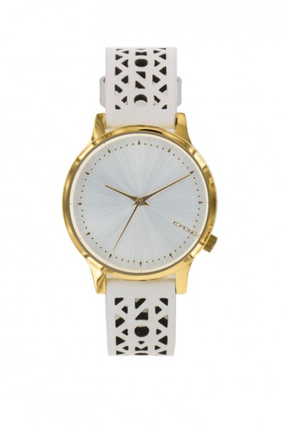 Komono - Watches Estelle Cut Out - White Gold
