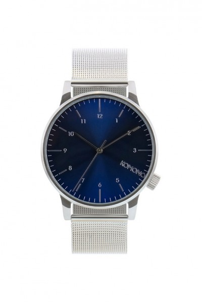 Komono - Watches Winston Royale - Silver Blue
