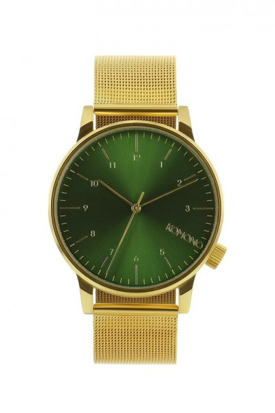 Komono - Watches Winston Royale - Gold Green