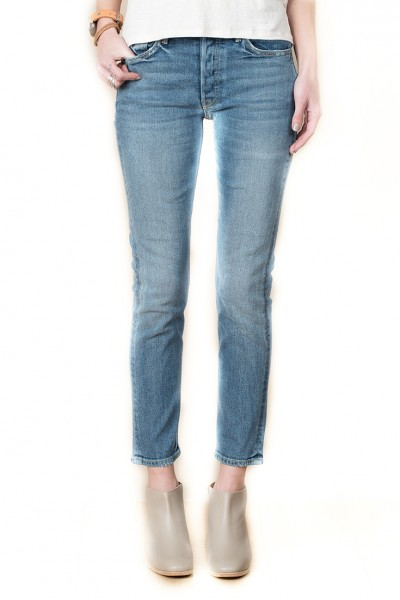 Grlfrnd - Women's Karolina High Rise Skinny Jean - Groovy Situation