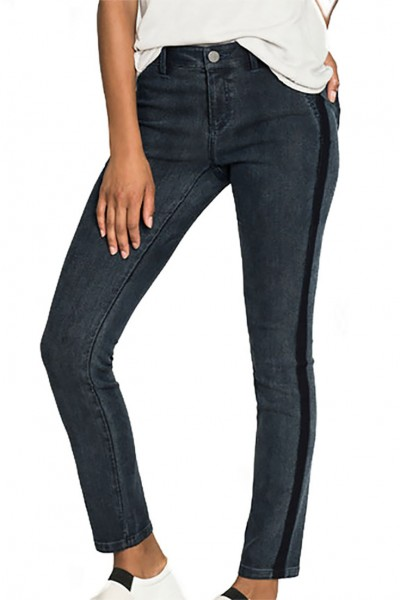 Nic+Zoe - Women's Shadow Wash Denim Pant - Dark Indigo
