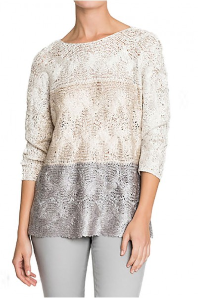 Nic+Zoe - Women's Daydreamer Ombre Top - Multi