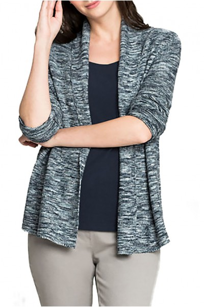 Nic+Zoe - Women's Mixed Up Cardy - Seafoam