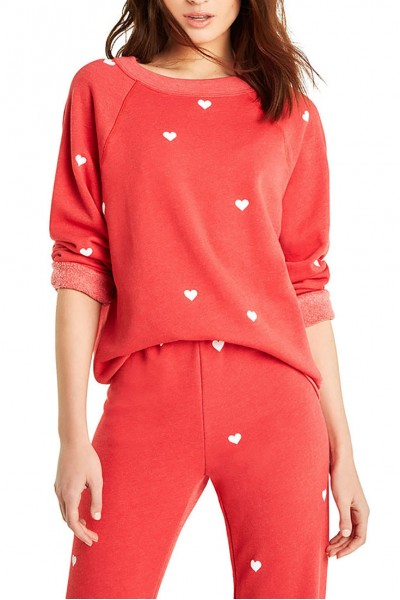 Wildfox  - Women's Lovestruck Sommers Sweater - Scarlet