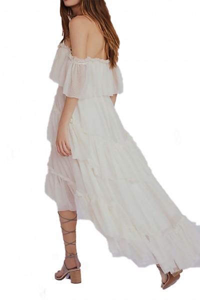 Ronny Kobo - Women's Mandy Dress - Ivory