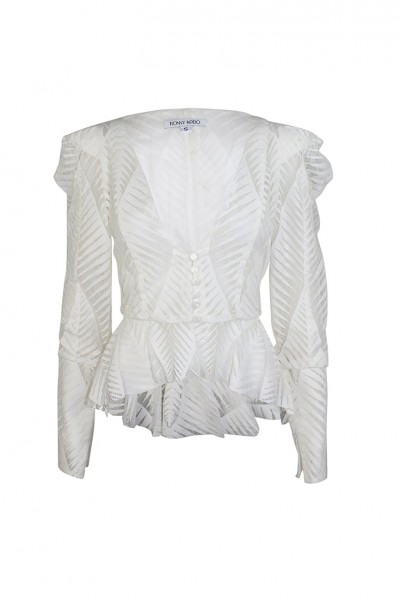 Ronny Kobo - Women's Dabria Top - White