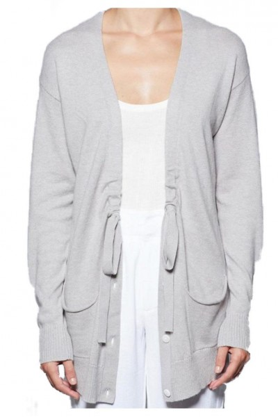 Brochu Walker - Women's Bray Cardigan - Feather Grey