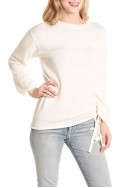 Brochu Walker - Women's Jacona Pullover Sweater - Alabaster