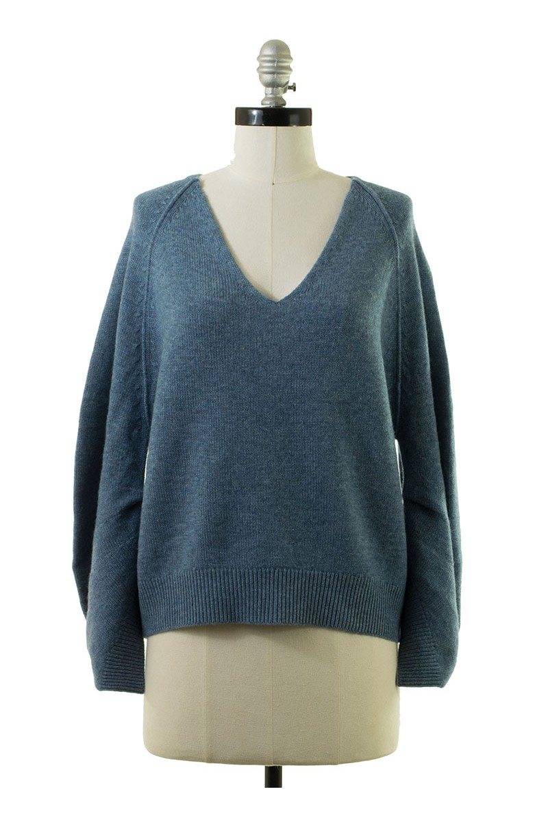 Brochu Walker - Women's Pia Sweatshirt - Nester Blue Melange