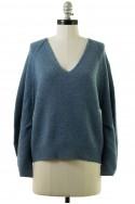 Brochu Walker - Women's Pia Sweatshirt - Nester Blue Melange