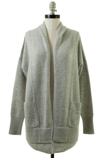 Brochu Walker - Women's Ferry Cardigan - Argent Grey Melange