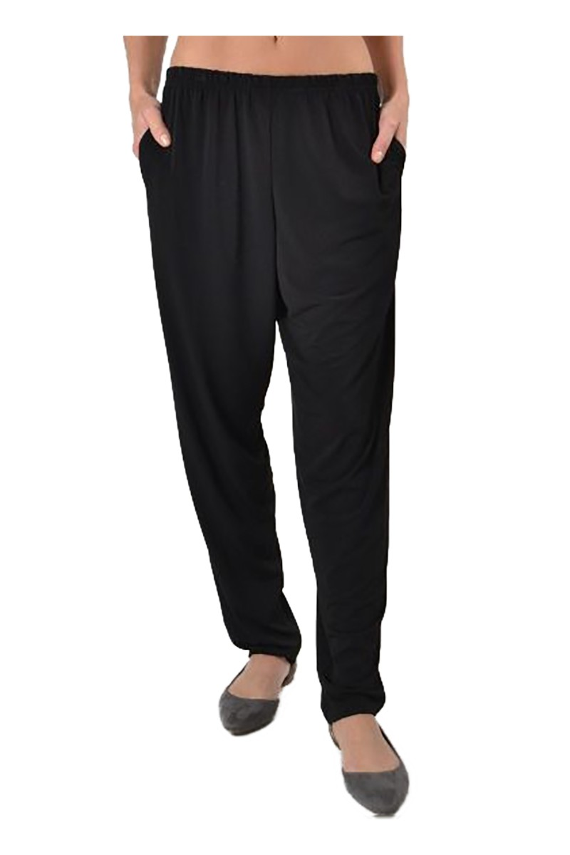 Planet - Women's Matte Jersey Slim Pant - Black