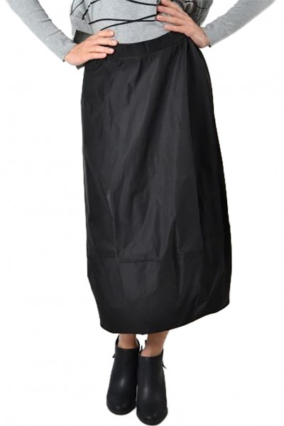 Planet - Women's Puff Skirt - Black