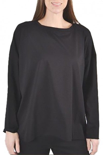 Planet - Women's Boxy Tee - Black