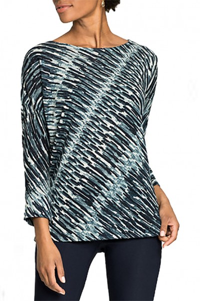 Nic+Zoe - Women's Green Light Top - Multi