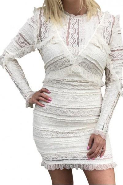 Ronny Kobo - Women's Sunny Dress - Ivory