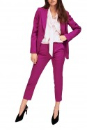 Tara Jarmon - Women's Tailored Pants In Wool Gabardine - Mauve