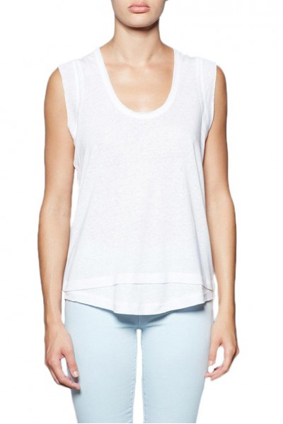 Brochu Walker - Women's Artesia Tank - Salt White