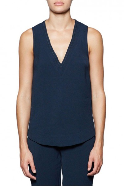 Brochu Walker - Women's Frans Tank - Jasper Navy