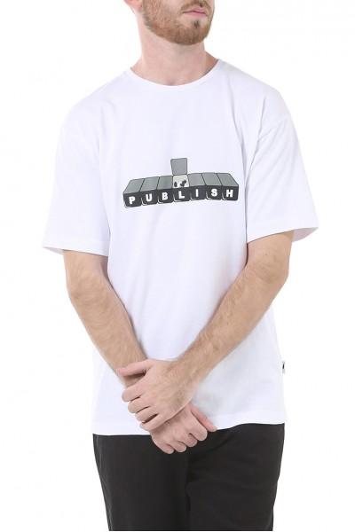 Publish - Men's Publish Dose Shirt - White