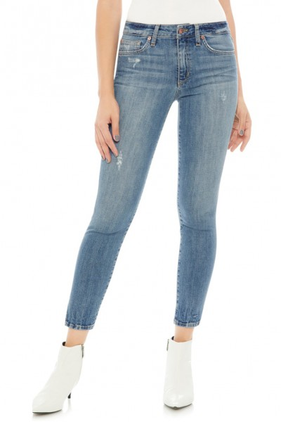 Joe's - Women's Icon Split Hem Crop Skinny Jeans - Ridley
