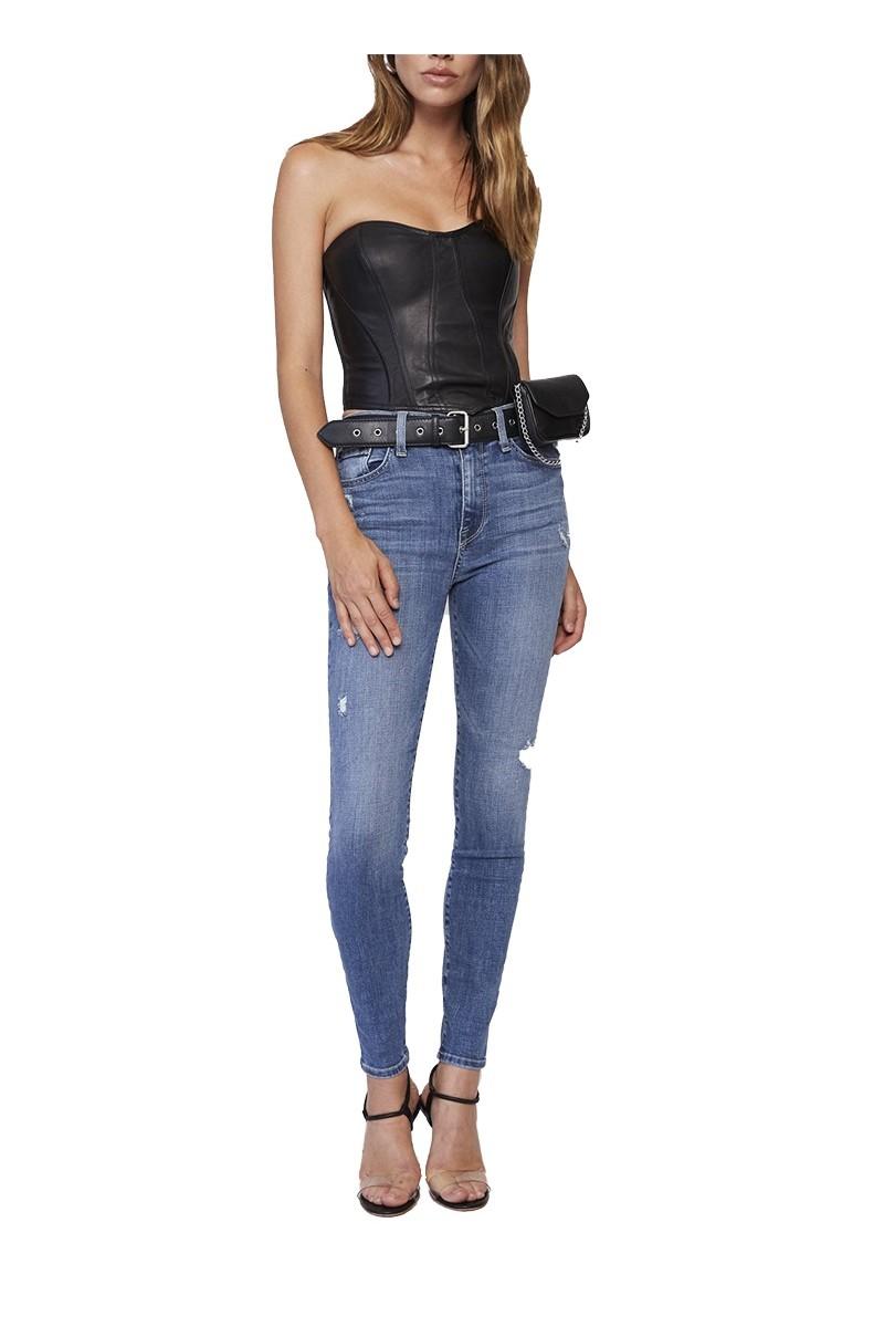 Pistola - Women's Aline High Rise Skinny Jean - Jaded