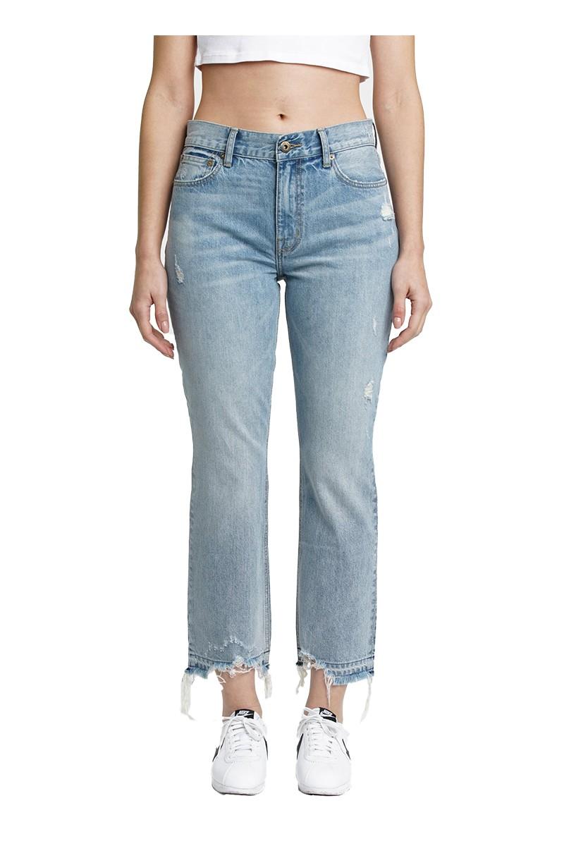 Pistola - Women's Lennon High Rise Cropped Boot Cut Jean