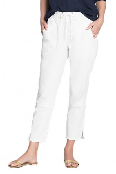 Nic+Zoe - Women's Open Road Pant - Paper White