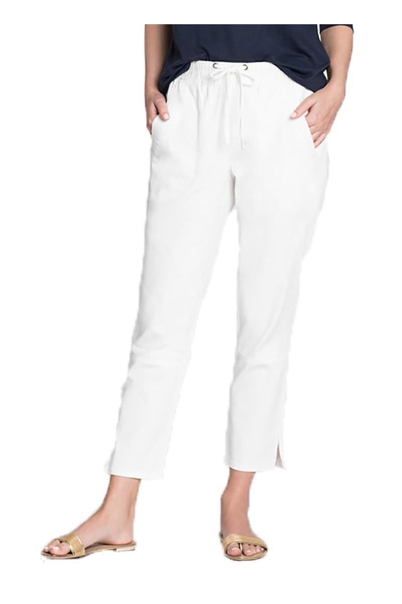 Nic+Zoe - Women's Open Road Pant - Paper White