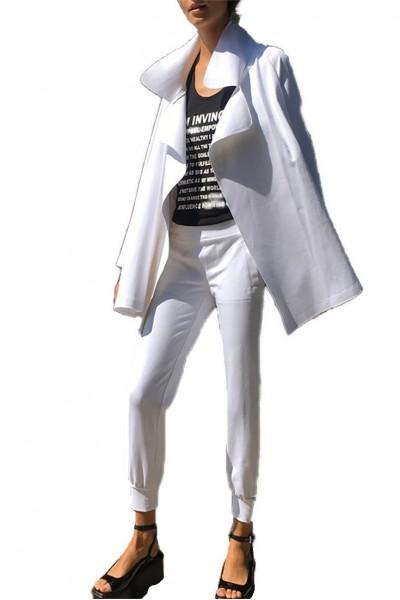 Norma Kamali - Women's Dolman 80 s Jacket - White